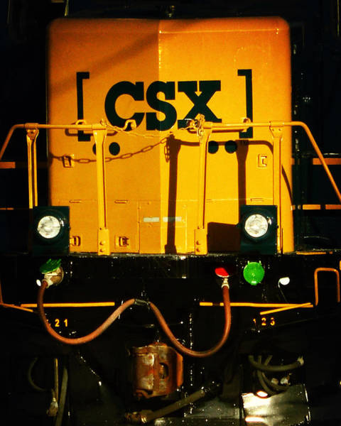 Photograph - Csx Engine Means Business by Bill Swartwout Photography