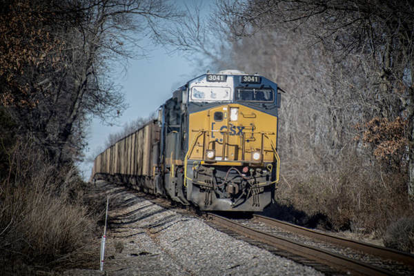 Subdivision Photograph - Csx T108 On Morganfield Branch Madisonville Ky by Jim Pearson