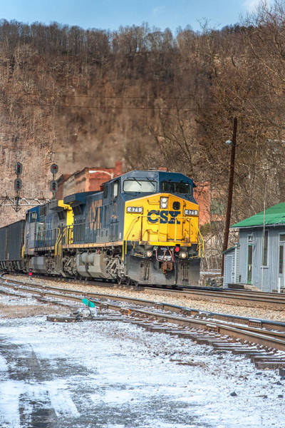 Photograph - Csx Train by Mary Almond