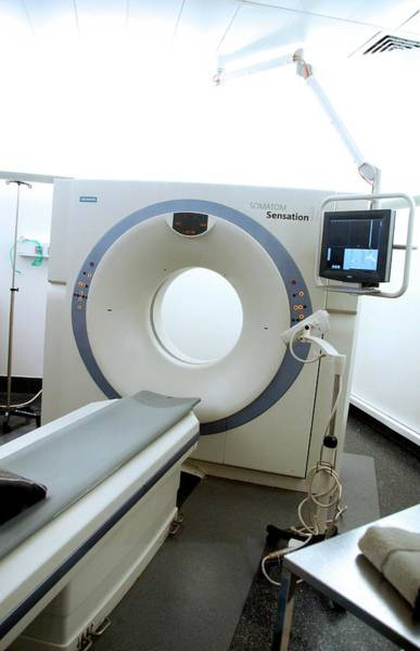 Sensation Photograph - Ct Scanner by Aj Photo/science Photo Library
