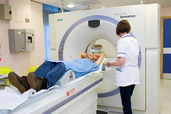 Sensation Photograph - Ct Scanning by Antonia Reeve/science Photo Library