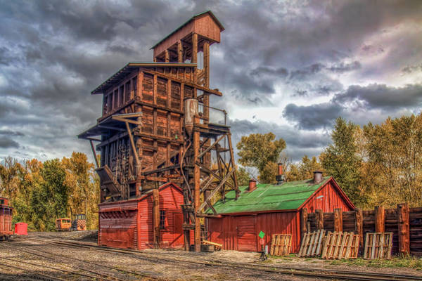 Chama Photograph - Coal Tipple by Tom Weisbrook