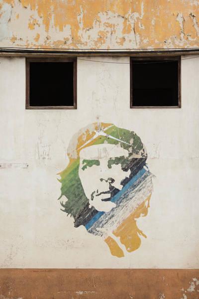 Wall Art - Photograph - Cuba, Havana, Havana Vieja, Wall by Walter Bibikow