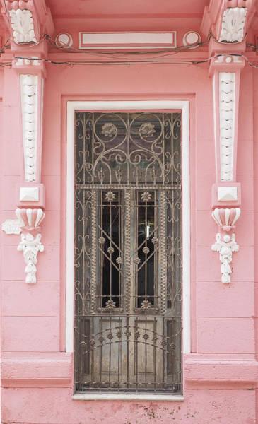 Photograph - Cuba - Pink Door Image Art By Jo Ann Tomaselli by Jo Ann Tomaselli