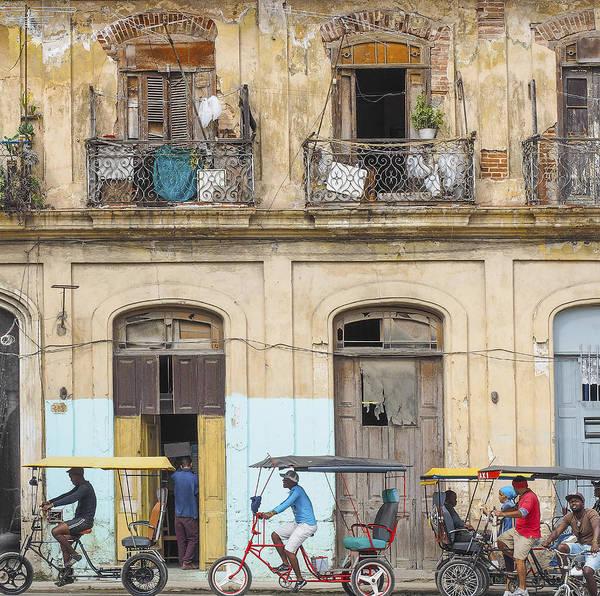 Photograph - Cuba Street Pedicabs by Jo Ann Tomaselli