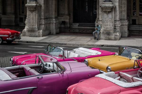 Old Car Wall Art - Photograph - Cuban Dream by Pavol Stranak