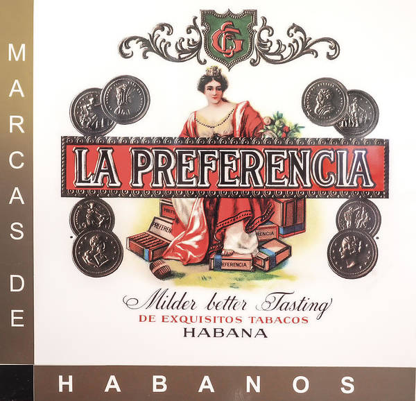 Photograph - Cuban La Preferencia Cigars Image Art by Jo Ann Tomaselli