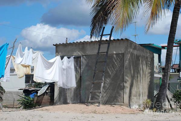 Wall Art - Photograph - Cuban Laundry by Andrea Simon