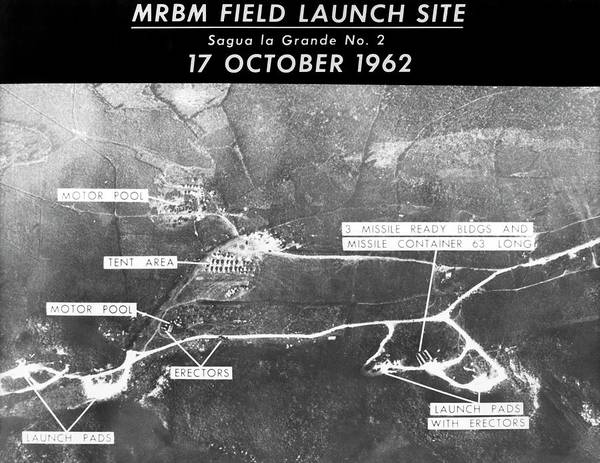 Cold War Photograph - Cuban Missile Crisis Launch Site by Us Air Force