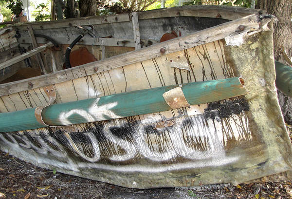 Photograph - Cuban Refugees Boat 2 by Bob Slitzan