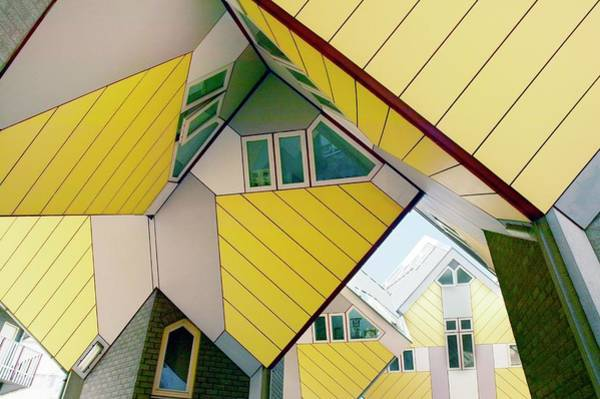 Cube House Wall Art - Photograph - Cube Houses by Colin Cuthbert/science Photo Library
