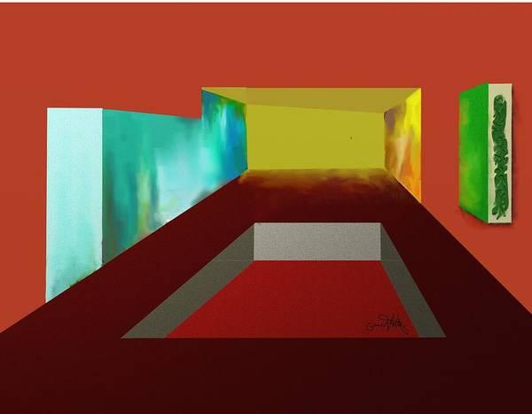 Painting - Cubical by Eugene Foltuz