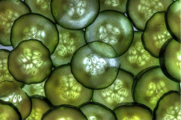 Linder Wall Art - Photograph - Cucumbers by Jane Linders