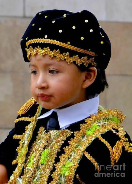 Matador Photograph - Cuenca Kids 355 by Al Bourassa
