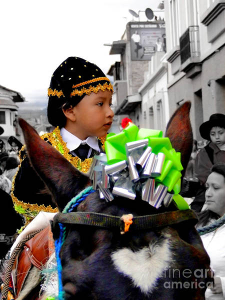 Matador Photograph - Cuenca Kids 362 by Al Bourassa