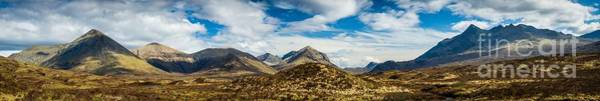 Wall Art - Photograph - Cuillin Range Panorama by Maciej Markiewicz