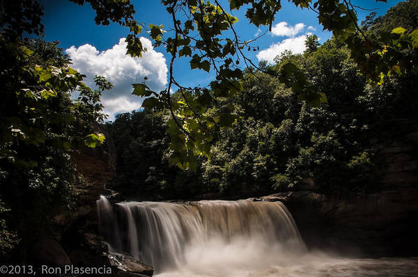Wall Art - Photograph - Cumberland Falls by Ron Plasencia
