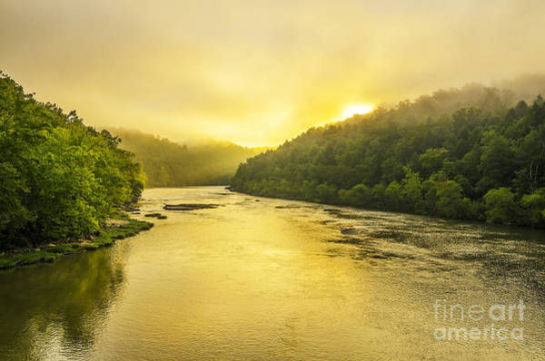 Wall Art - Photograph - Cumberland River Morning by Anthony Heflin