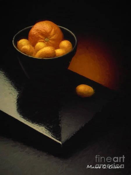 Pyrography - Cumquats by Mauro Celotti