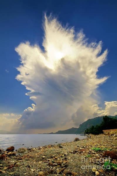 Turkiye Wall Art - Photograph - Cumulonimbus Incus Cloud Rising by Leyla Ismet