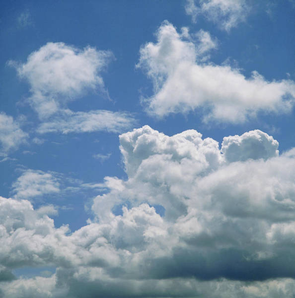 Cloud Type Wall Art - Photograph - Cumulus Cloud by Simon Fraser/science Photo Library