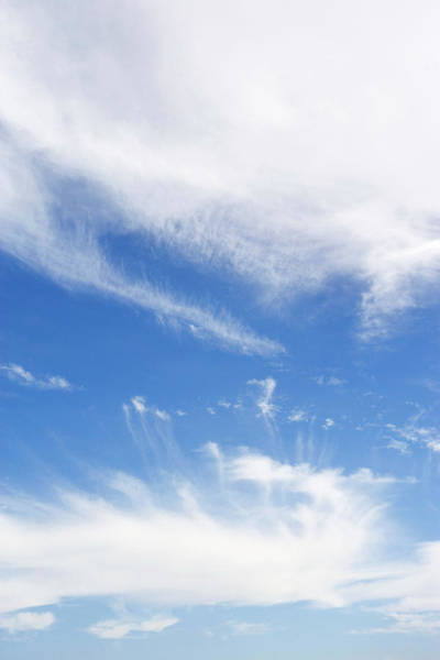 Cumulus Photograph - Cumulus Clouds by Gustoimages/science Photo Library