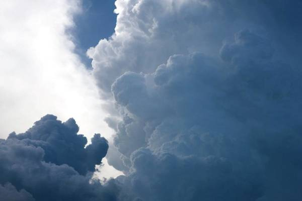 Cumulus Photograph - Cumulus Clouds by Pascal Goetgheluck/science Photo Library
