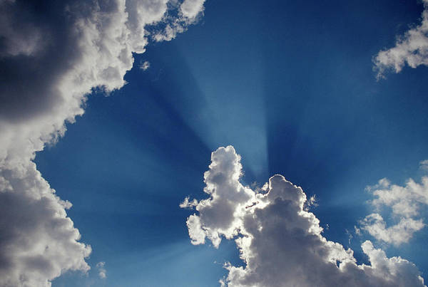 Finnish Photograph - Cumulus Clouds by Pekka Parviainen/science Photo Library
