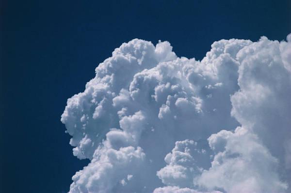 Cumulus Photograph - Cumulus Tower by Gordon Garradd/science Photo Library