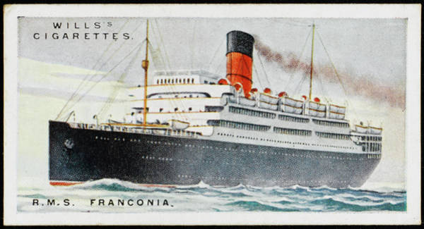 1924 Drawing - Cunarder On The Atlantic Run by Mary Evans Picture Library