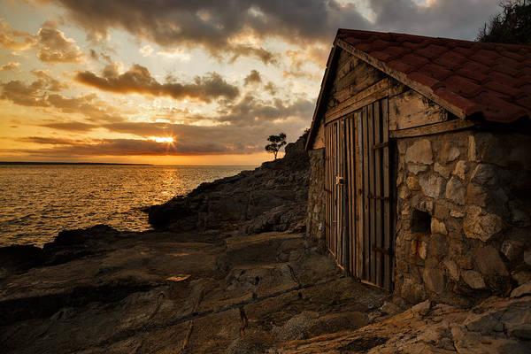 Losinj Photograph - Zaosiri Beach At Sunrise by Ian Middleton