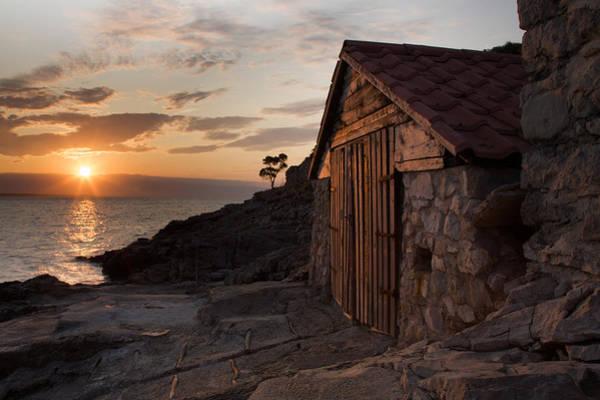 Losinj Photograph - Cunski Coastline At Sunrise by Ian Middleton