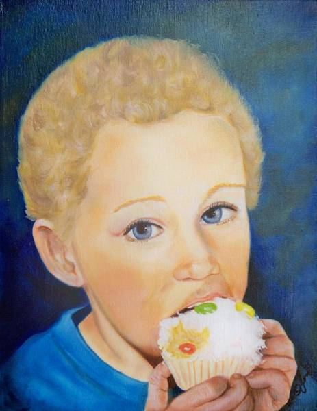 Painting - Cup Cakes by Joni McPherson