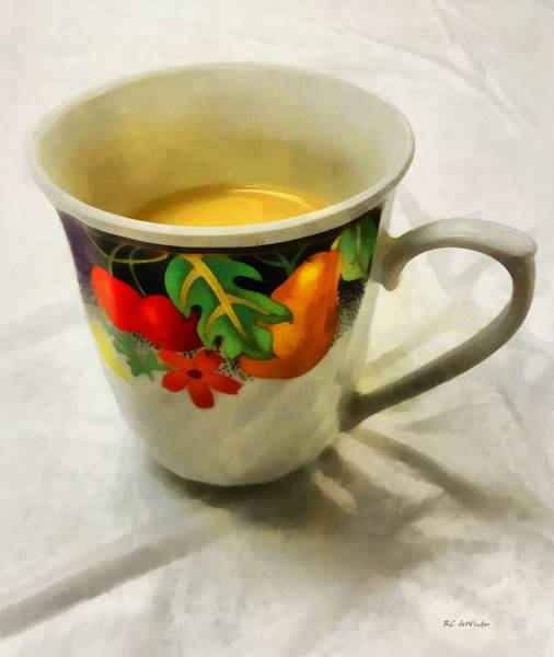 Painting - Cup Interrupted by RC DeWinter