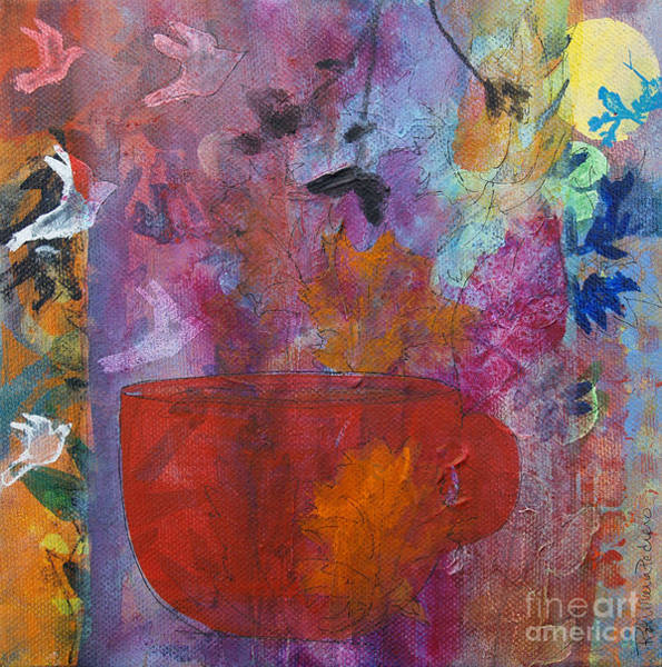 Painting - Cup Of Change by Robin Maria Pedrero