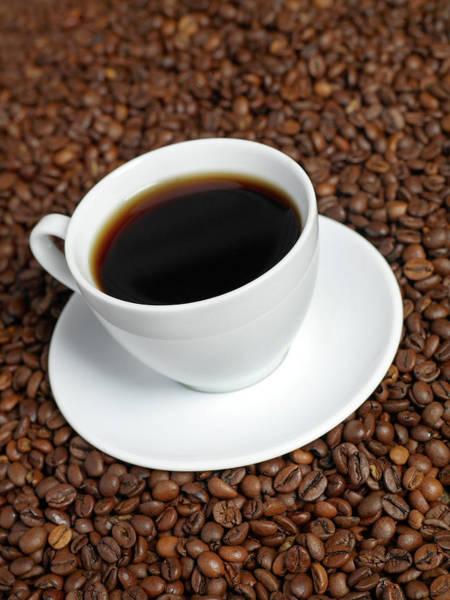 Mug Photograph - Cup Of Coffee by Flyfloor