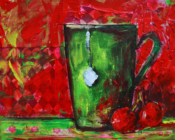 Painting - Cup Of Tea No. 1 by Patricia Awapara