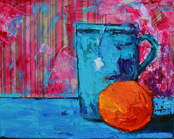 Painting - Cup Of Tea No. 2 by Patricia Awapara