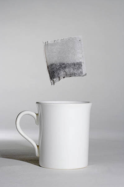 Wall Art - Photograph - Cup Of Tea by Simon Booth/science Photo Library