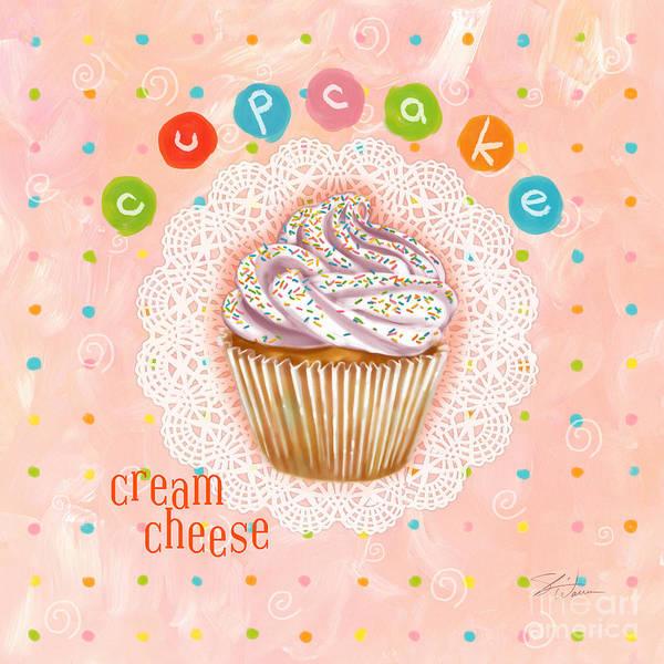 Cupcake-cream Cheese Art Print