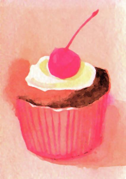 Photograph - Cupcake Illustration by Kana hata