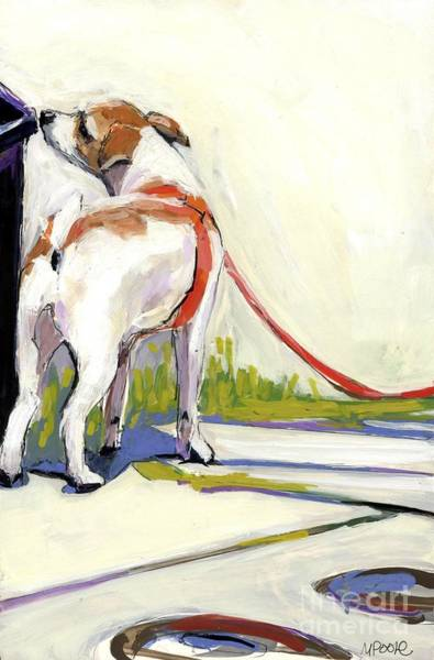 Leash Painting - Curbside by Molly Poole