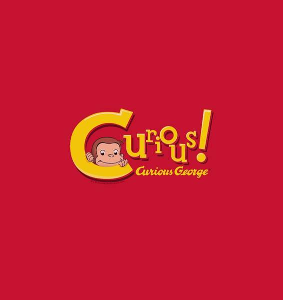 Wall Art - Digital Art - Curious George - Curious by Brand A