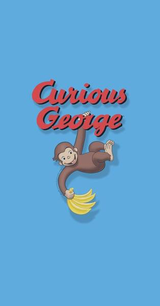 Wall Art - Digital Art - Curious George - Hangin Out by Brand A