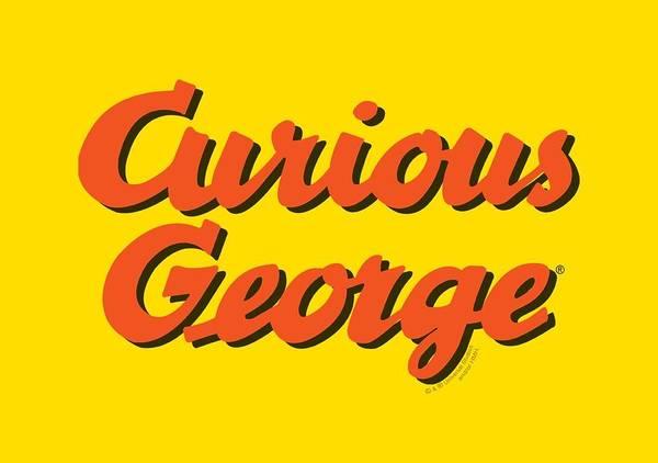 Wall Art - Digital Art - Curious George - Logo by Brand A