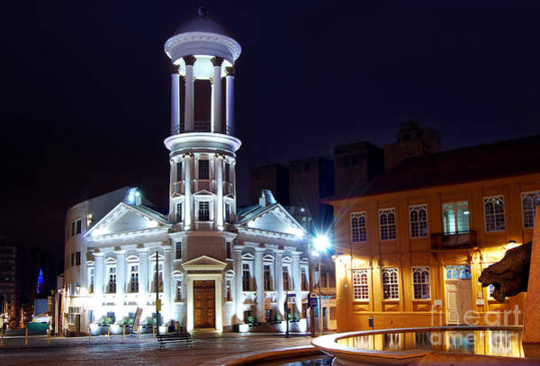 Curitiba - Centro Historico Art Print