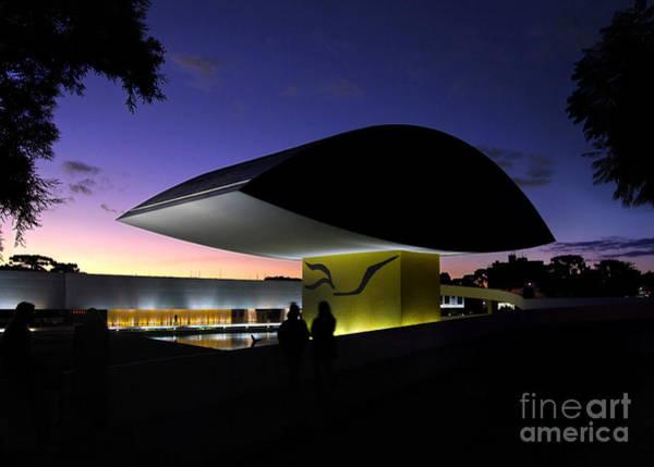 Photograph - Curitiba - Museu Oscar Niemeyer by Carlos Alkmin
