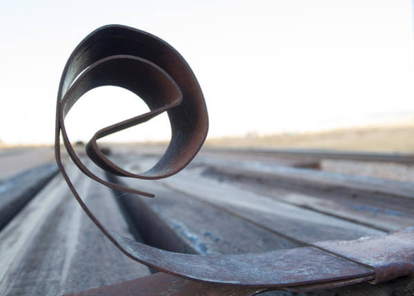 Photograph - Curled Steel by Fran Riley