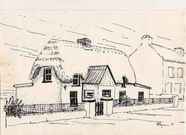 Painting - Curlew Cottage  Kilmore Quay Wexford  by Val Byrne