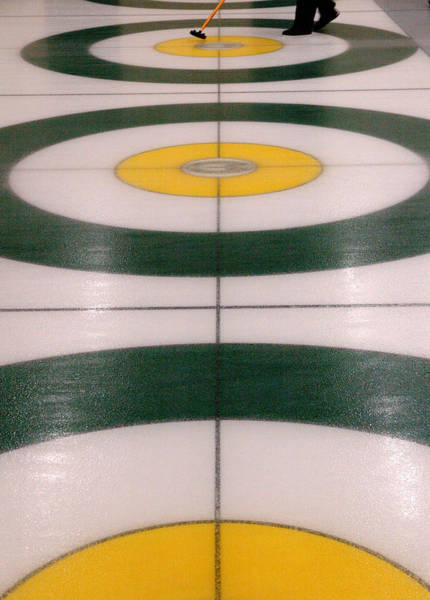 Photograph - Curling Action. by Rob Huntley